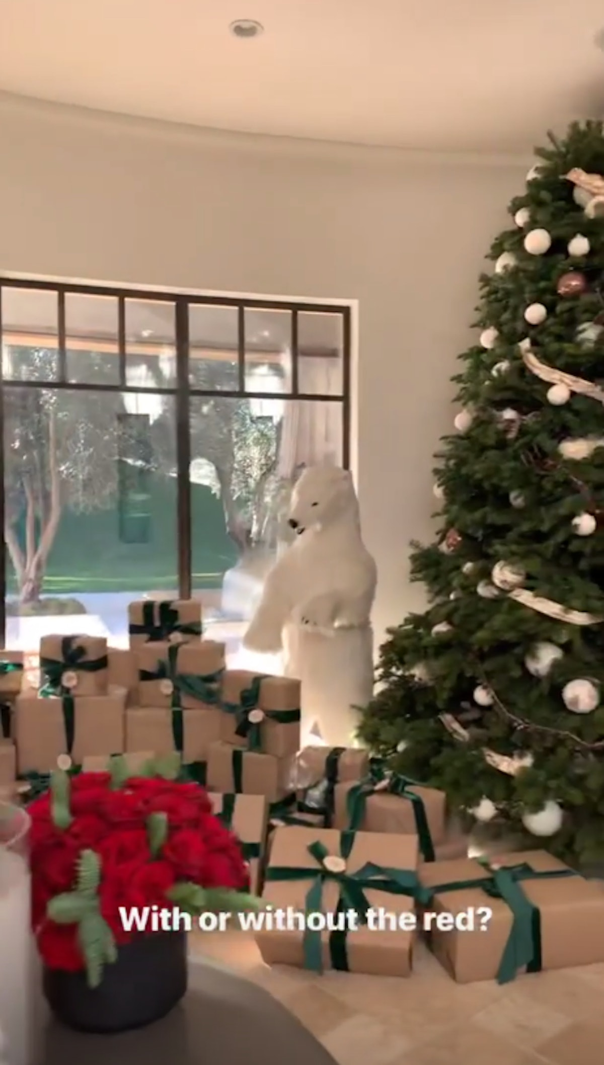 Photos of Kardashian Christmas Decorations To Inspire Your Holiday Party