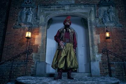 Kayvan Novak as Ali Baba in 'A Christmas Carol' on FX