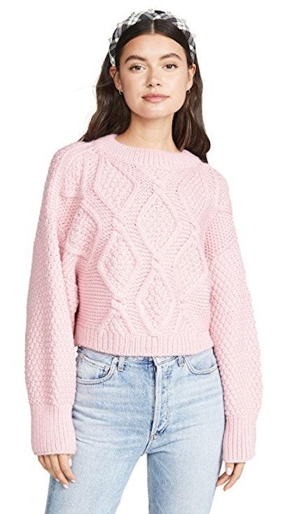 Diamond Crew Neck Sweater