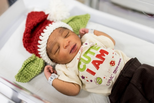 A Pittsburgh hospital dressed newborns in Baby Yoda-inspired outfits as a holiday treat for families.
