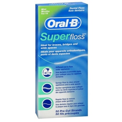 Oral-B Super Floss (50-Pack, Set Of 2)