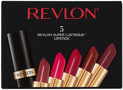 Revlon Super Lustrous Lipstick Set (5-Piece Set)