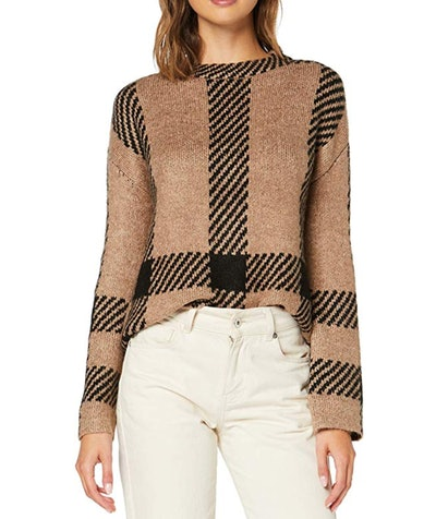 Loose Fit Crew Neck Sweater by find.
