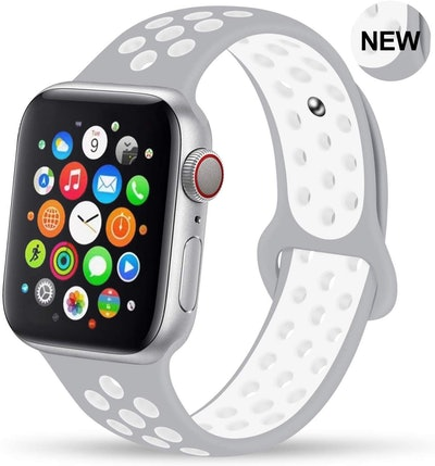 GZ GZHISY Soft Silicone Apple Watch Sport Band