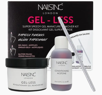 Gel-less Gel Nail Polish Remover Kit