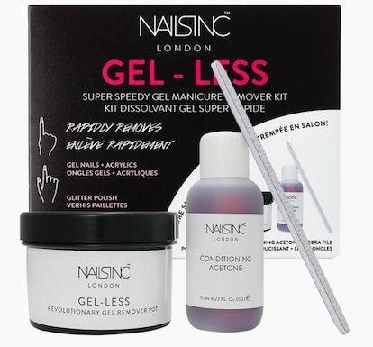 Gel-less Gel Nail Polish Remover Kit
