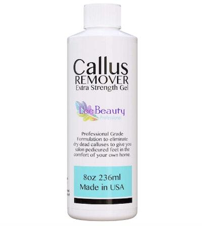 Lee Beauty Professional Callus Remover Gel (8-Oz)