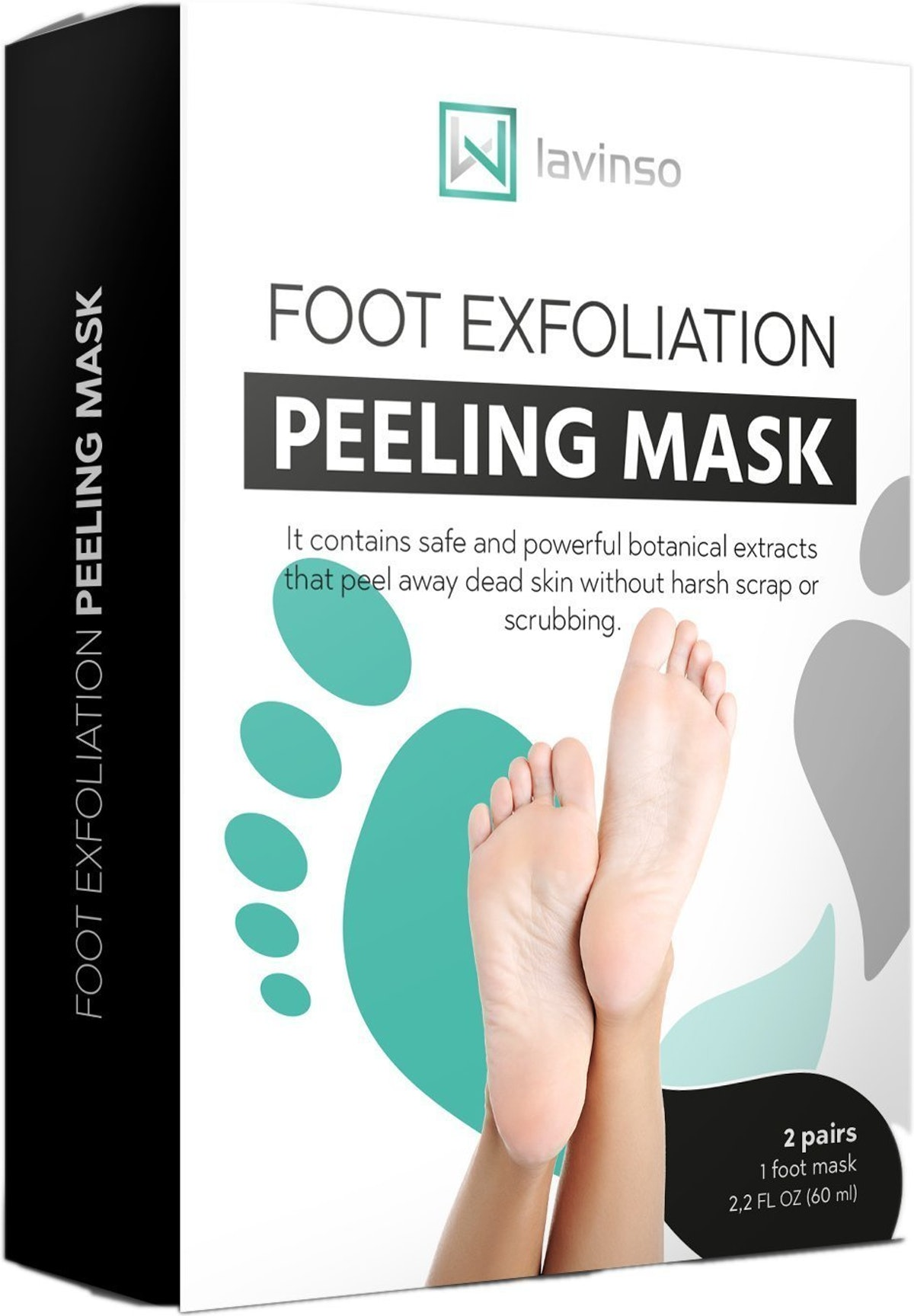 Lavinso Foot Peel Mask (2 Pack)