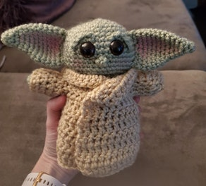 Pattern: Baby Yoda Doll Crochet