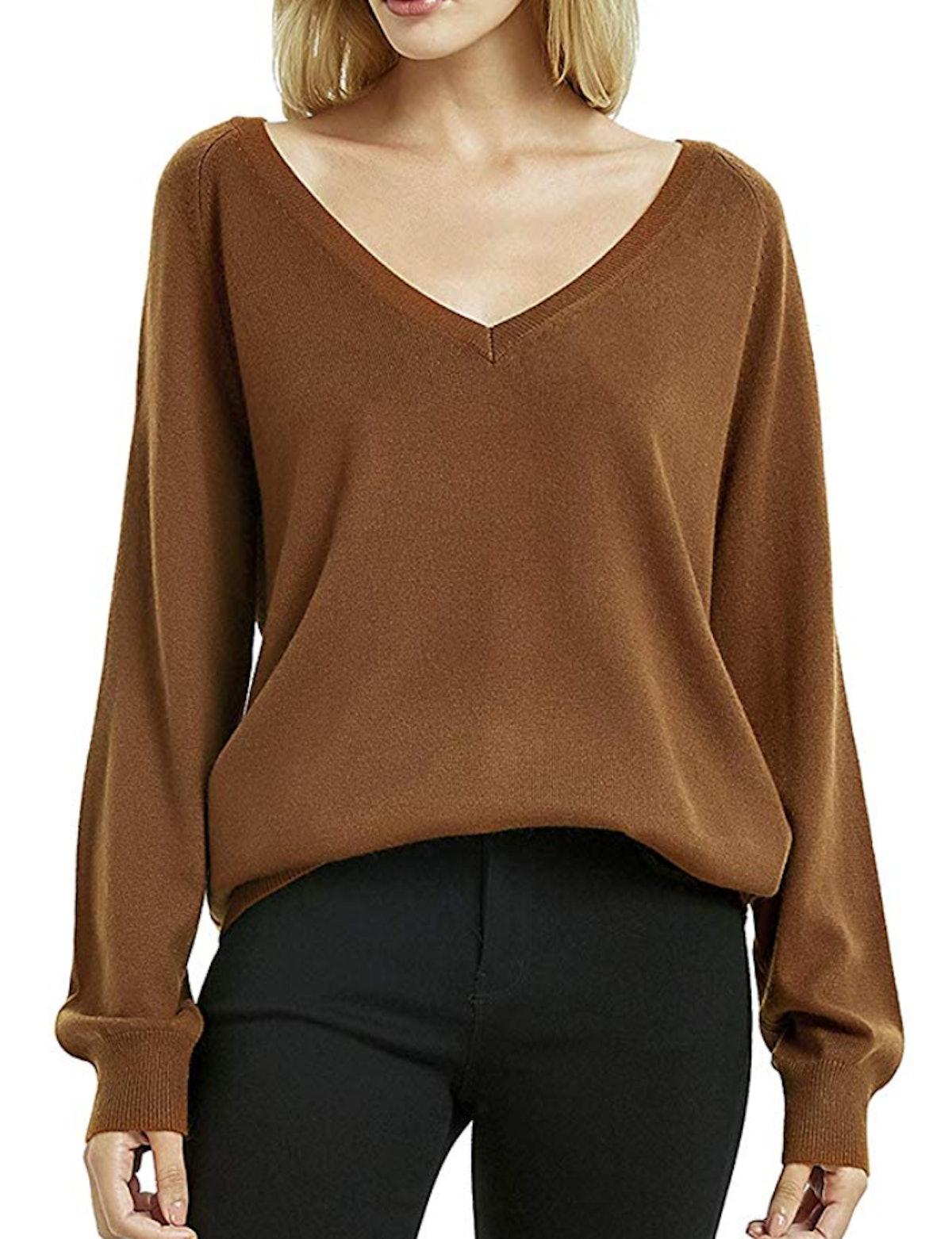 Kallspin Cashmere Wool Blended Sweater