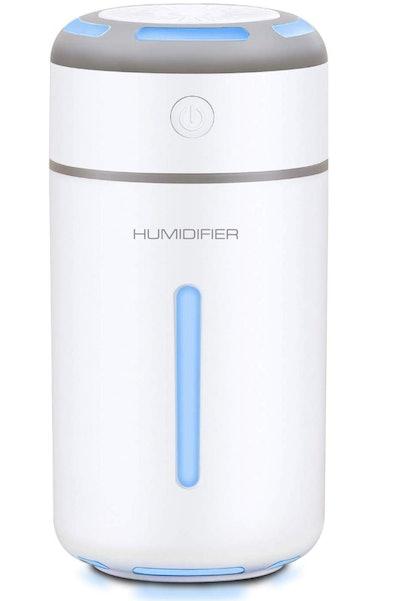 MADETEC Mini Ultrasonic Cool Mist Humidifier