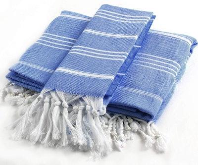 Cacala 2-Piece Pestemal Turkish Towel Set