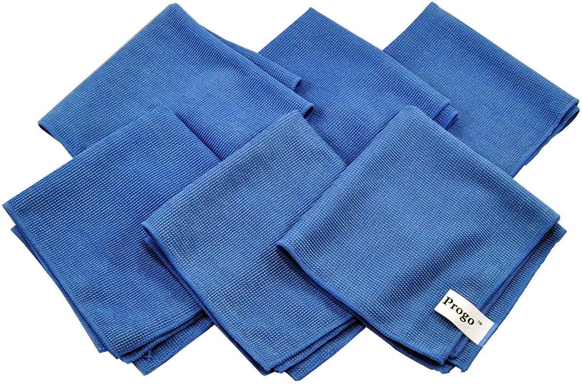 Progo Ultra Absorbent Microfiber Cleaning Cloths (6-Pack)