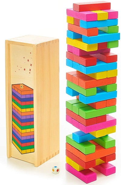 DexKid Wooden Building Blocks