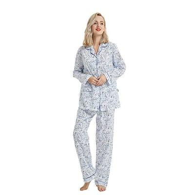 GLOBAL Cotton Pajama Set