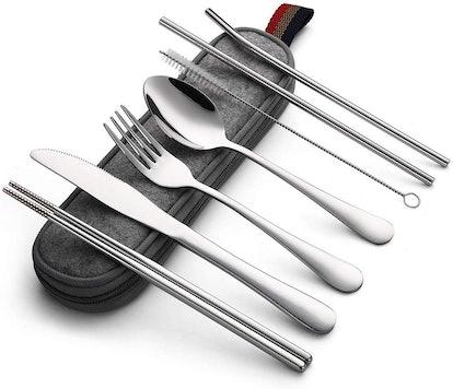 DEVICO Travel Cutlery Set (8-Piece Set)