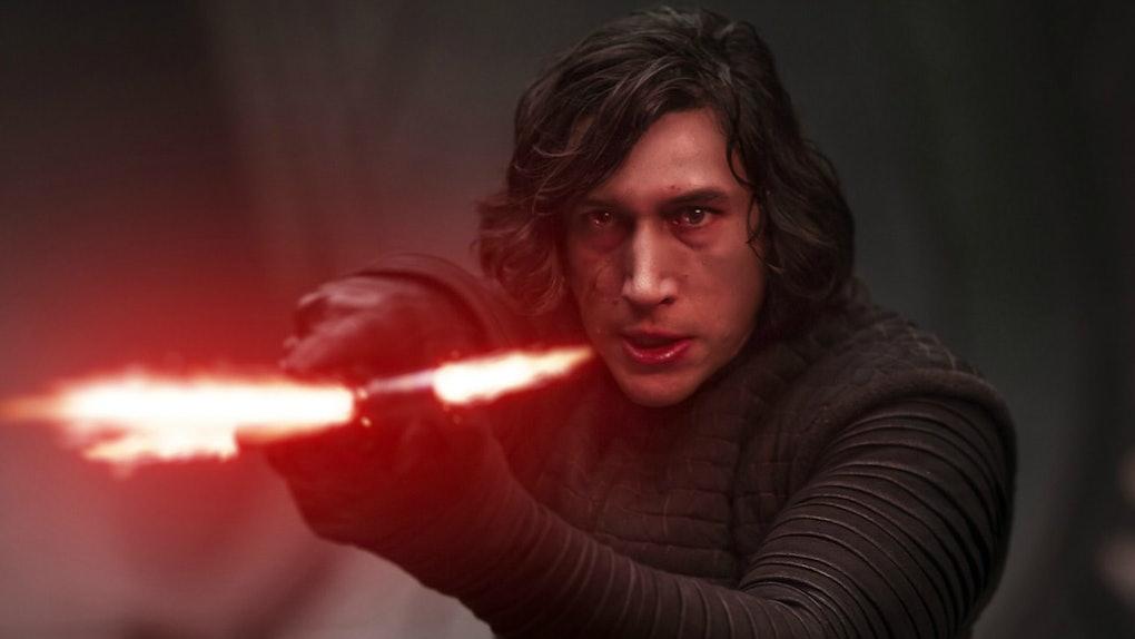 Kylo Ren in Star Wars The Last Jedi