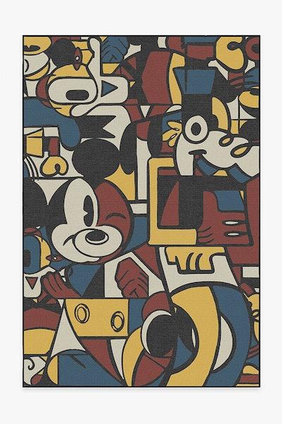 Mickey & Friends Multicolor Rug (5x7)