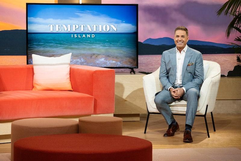 Temptation Island host Mark Walberg at the Season 2 finale