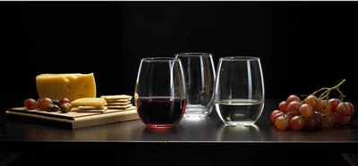 Luminarc Stemless Wine Glass, 12-Piece