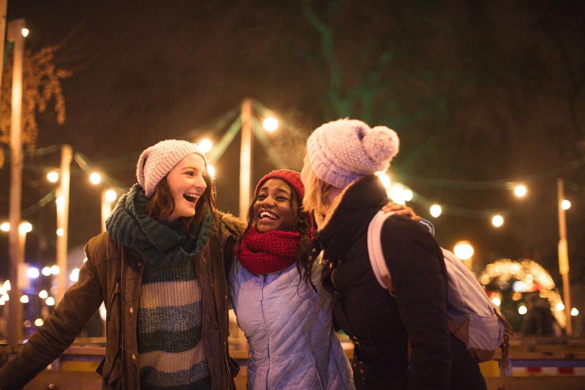 Three girl friends having best Capricorn season 2019.