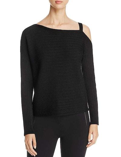 Eileen Fisher Tencel Knit One Shoulder Sweater