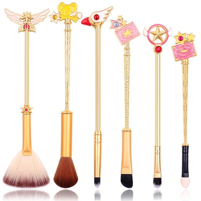 Cute Fairy Makeup Brush Set