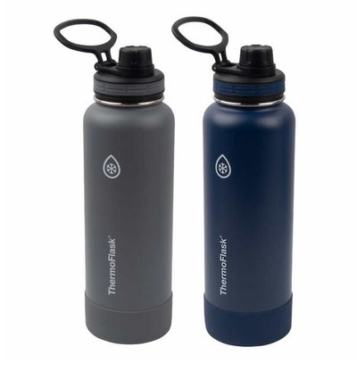 Thermoflask Insulated 40oz Stainless Steel Water Bottle with Spout Lid