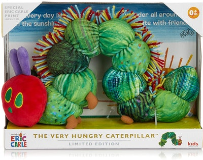 The Very Hungry Caterpillar 50th Birthday Plush and Print Set
