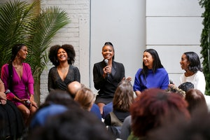 Gabrielle Union-Wade celebrates her New York & Co. holiday collection with a discussion on female leadership and inclusion