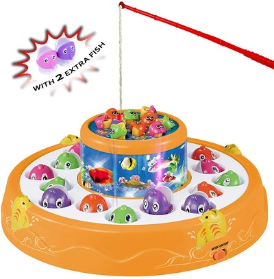 Haktoys Deluxe Fishing Game Toy Set