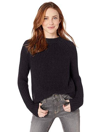 Goodthreads Cotton Mock Neck Sweater