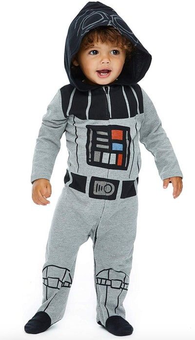 Star Wars Baby Costume Zip-Up Footies with Hood