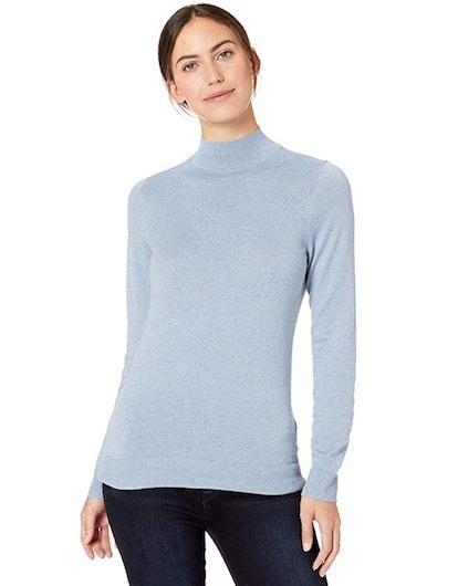 Amazon Essentials Lightweight Mockneck Sweater