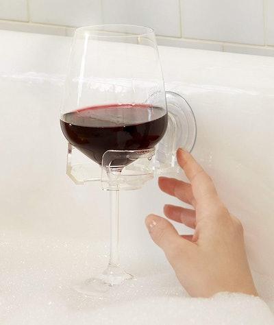 SipCaddy Bath & Shower Portable Wine Holder