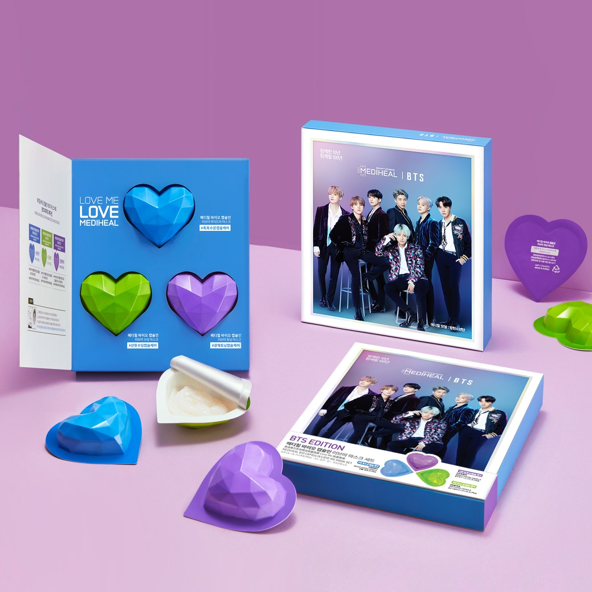 Mediheal Loveme Mask Set [BTS Edition]