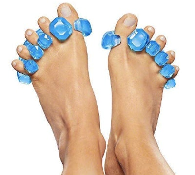 YogaToes GEMS: Gel Toe Stretcher & Separator (2-Pack)