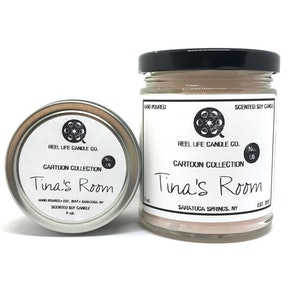 Tina's Room Scented Soy Candle