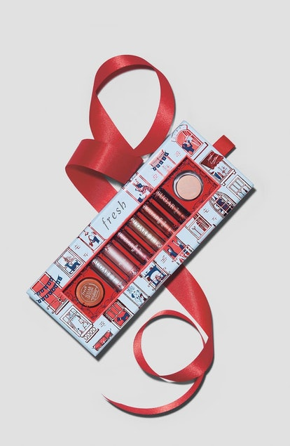The holiday beauty gift sets on sale at Nordstrom include a bundle of Fresh's Sugar lip treats