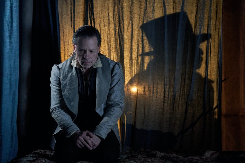 Guy Pearce as Ebenezer Scrooge in 'A Christmas Carol' on FX