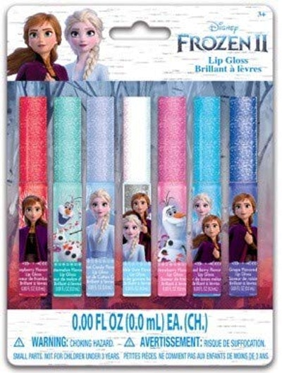 Townley Girl Disney Frozen 2 Lip Gloss Set