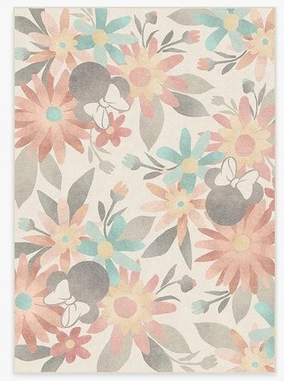Minnie Floral Multicolor Rug (5x7)