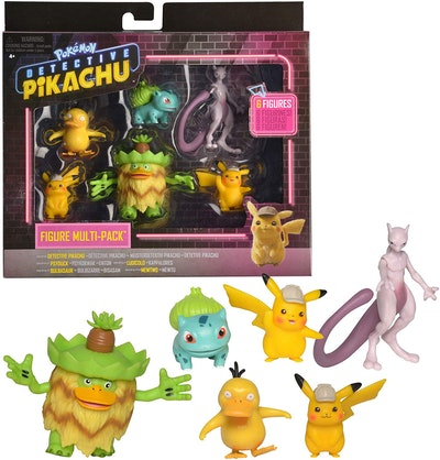 Pokémon Detective Pikachu Battle Figure Multi-Pack