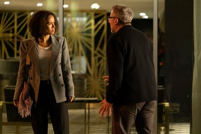Gugu Mbatha-Raw and Steve Carell in 'The Morning Show'