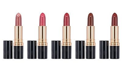 Revlon Super Lustrous Lip Gloss 5 Piece Lip Kit Gift Set