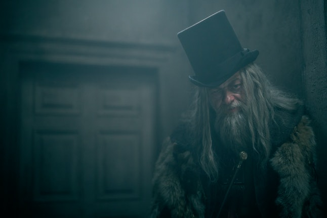 Andy Serkis as Ghost of Christmas Past in 'A Christmas Carol' on FX