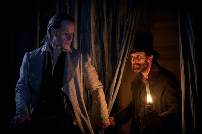 Johnny Harris as Franklin Scrooge in 'A Christmas Carol' on FX