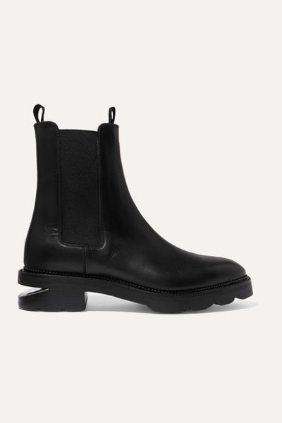 Andee Cutout Leather Chelsea Boots