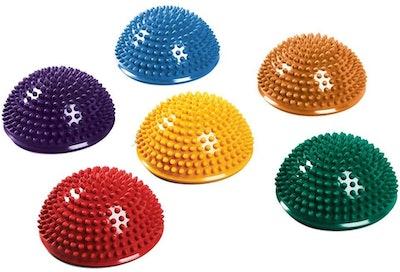 SPRI Balance Pods Hedgehog Stability Trainer Dots (6-Pack)