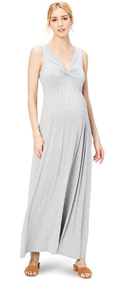 Daily Ritual Women's Maternity Maxi Dress